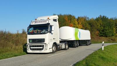 Transport on behalf of Deutsche Post