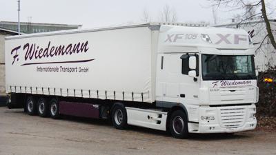 Überführung von schweren Transportladungen